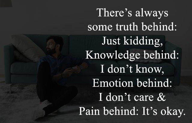 Sad Caption for Inside Broken People